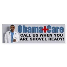 ObamaCare Bumper Car Sticker
