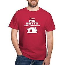 BBQ: I Like Pig Butts T-Shirt