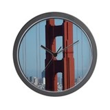 San Francisco Golden Gate Bridge Wall Clock