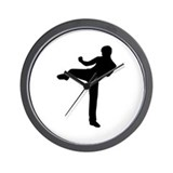 Kickboxing Wall Clock