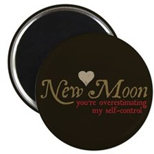 "New Moon Self Control 2.25"" Magnet (100 pack)"