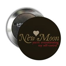 "New Moon Self Control 2.25"" Button (100 pack)"