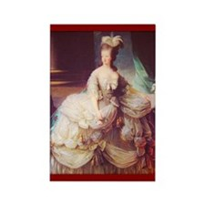 """Marie-Antoinette"" Rectangle Magnet (10"