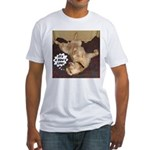 It's A Dog's Life Fitted T-Shirt