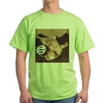 It's A Dog's Life Green T-Shirt