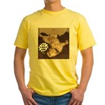 It's A Dog's Life Yellow T-Shirt