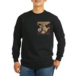 It's A Dog's Life Long Sleeve Dark T-Shirt