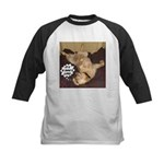 It's A Dog's Life Kids Baseball Jersey