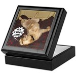 It's A Dog's Life Keepsake Box