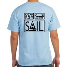 Eat Sleep Sail T-Shirt