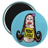 "Wise Latina Woman 2.25"" Magnet (100 pack)"