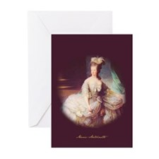 """Marie-Antoinette"" Greeting Cards (Pk of"