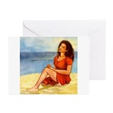 A Wise Latina Woman Greeting Cards (Pk of 10)