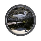 Reddish Egret - Wall Clock