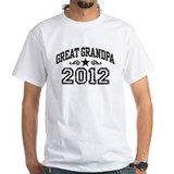 Great Grandpa 2012 Shirt