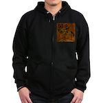 50th Birthday Zip Hoodie (dark)