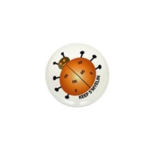 MS/Multiple Sclerosis Bug Mini Button (10 pack)