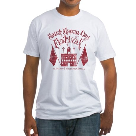 New Moon St. Marcus Day Festival Fitted T-Shirt