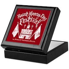 New Moon St. Marcus Day Festival Keepsake Box