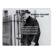 Famous Political Leaders 2010 Wall Calendar