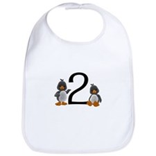 2 Penguins Bib