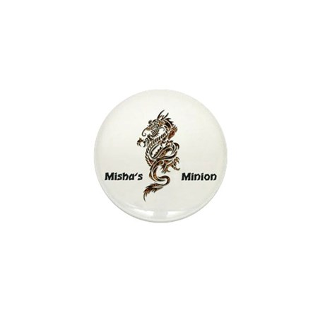 Misha's Minion - 2 Mini Button