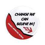 "Obama Approval Rating 3.5"" Button (100 pack)"