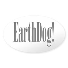 Earthdog Oval Decal