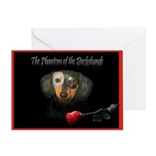Phantom Doxie Greeting Card