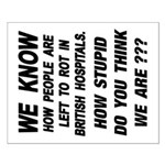16X20 WE KNOW HOW Poster