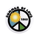 "Summer of Love 69 3.5"" Button"