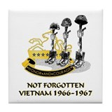 8th CAV. VIETNAM 1966-1967 Tile Coaster