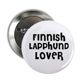 "FINNISH LAPPHUND LOVER 2.25"" Button (10 pack)"