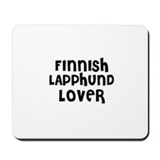 FINNISH LAPPHUND LOVER Mousepad