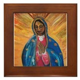Virgen de Guadalupe Framed Tile