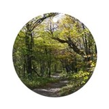 Forest Path Ornament (Round)