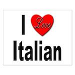 I Love Italian Small Poster