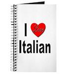 I Love Italian Journal