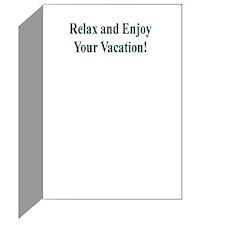 Vacation Greeting Card