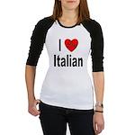 I Love Italian Jr. Raglan