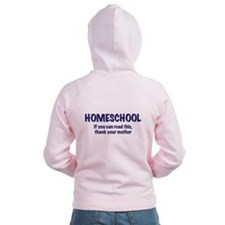 Homeschool Thanks Zip Hoodie