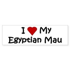 Egyptian Mau Bumper Bumper Sticker