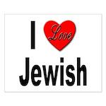 I Love Jewish Small Poster