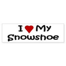 Snowshoe Bumper Bumper Sticker
