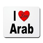 I Love Arab Mousepad