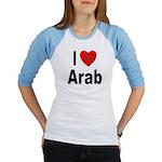 I Love Arab (Front) Jr. Raglan