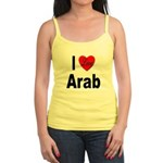 I Love Arab Jr. Spaghetti Tank