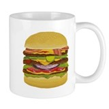 cheeseburger king Mug