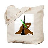 Oboe Wan Kenobi Tote Bag