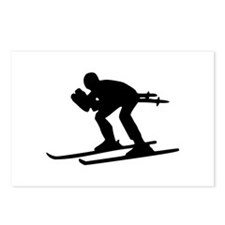 Ski Downhill Postcards (Package of 8)